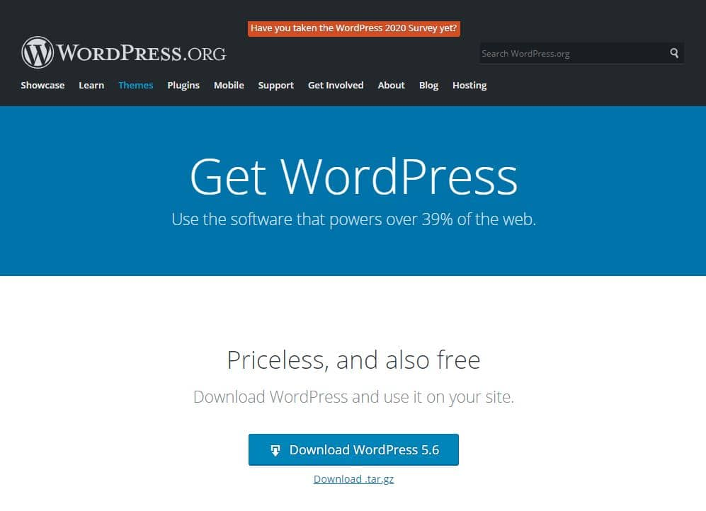 WordPress İndirme